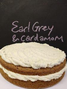 Earl Grey and Cardamom cake
