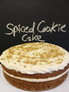 Spiced Cookie cake