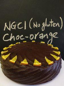 NGCI chocolate orange cake