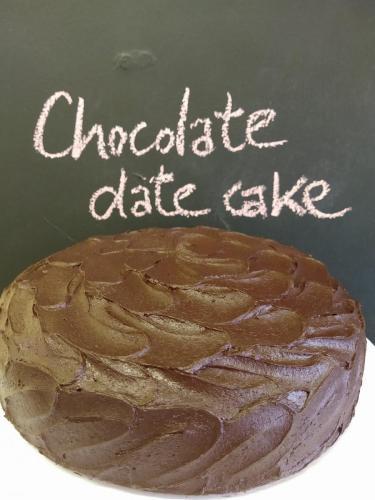 Chocolate date cake